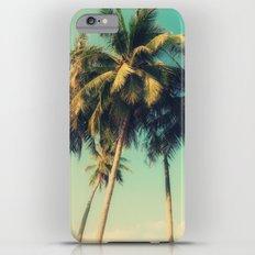 tropical trees in florida iPhone 6 Plus Slim Case