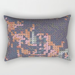 Digital expressionism 022 Rectangular Pillow