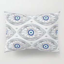 Greek Mati Mataki - Matiasma Evil Eye Pattern #3 Pillow Sham
