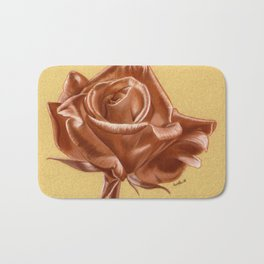 Sanguine Rose Bath Mat