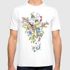 Another Strange World Mens Fitted Tee White MEDIUM