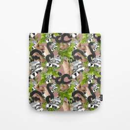 muscles diamonds greens Tote Bag
