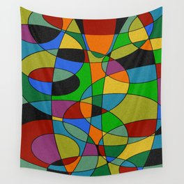 Abstract #94 Wall Tapestry
