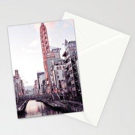Osaka City, Japan Stationery Cards