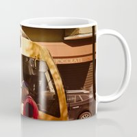 chocolate Mugs featuring Chocolate by Sébastien BOUVIER