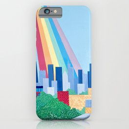 Bless This City iPhone Case