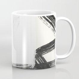 I dream of Japan, abstract thick brush strokes Coffee Mug