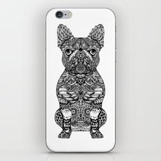 Mandala Frenchie iPhone Skin