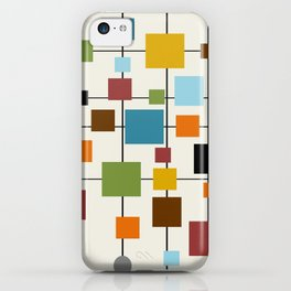 Mid-Century Modern Art 1.3 iPhone Case