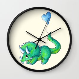 Balloon for Baby (Boy) Wall Clock