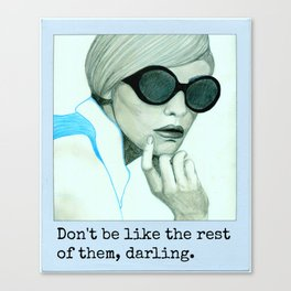 Darling Canvas Print