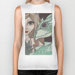 Fairy and Dragon Biker Tank