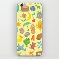 be happy iPhone & iPod Skins featuring Happy by Vladimir Stankovic