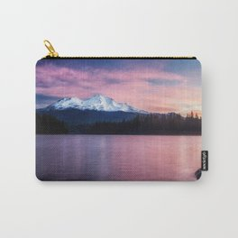 Sublime a sunrise at Lake Siskiyou with Mt. Shasta Carry-All Pouch