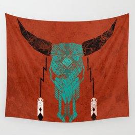 Southwest Skull Wall Tapestry