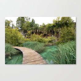 guided relaxation Canvas Print