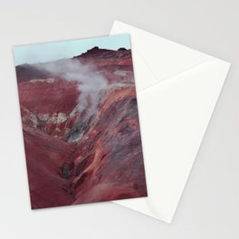 Icelandic volcano Stationery Cards