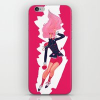 utena iPhone & iPod Skins featuring REVOLUTIONARY GIRL by SMOKESINATRA