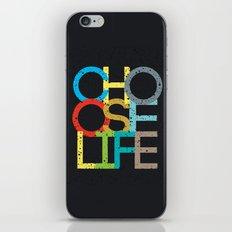 Choose Life iPhone & iPod Skin