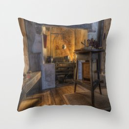 Olde Kitchen Throw Pillow