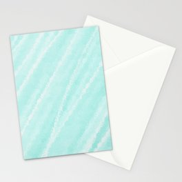 Cyan Waves Oceanside Stationery Cards