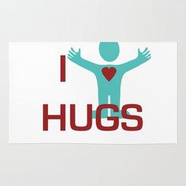 I heart Hugs Rug