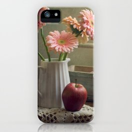 In the spring mood iPhone Case