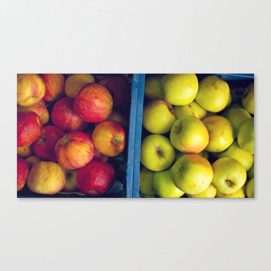 An apple a day. Canvas Print