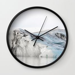Tip Of The Iceberg VII Wall Clock