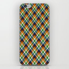 Plaid 19 iPhone Skin