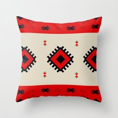 Romanian Pattern Throw Pillow