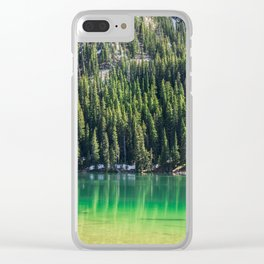 Fairy Lake, Gallatin County, MT Clear iPhone Case