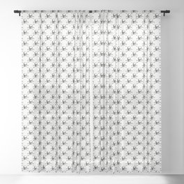 Skull and Crossbones | Jolly Roger Sheer Curtain