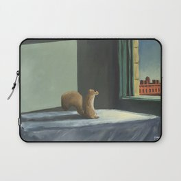 Sunday Morning Squirrel Laptop Sleeve