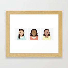Ladies of Broadway III Framed Art Print
