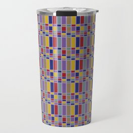 Keyboard Plaid-Retro Travel Mug