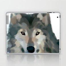 Wolf Painting Laptop & iPad Skin