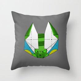 Space cat Joe Throw Pillow
