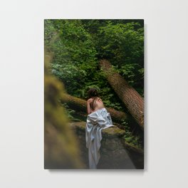 A Faerie on Her Own Metal Print