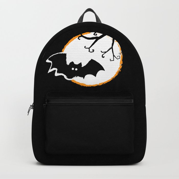 Bat and Moon Backpack