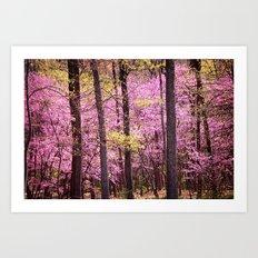 Spring Trees In Bloom Art Print