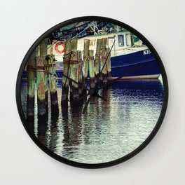 Breathe in the Salty Air Wall Clock