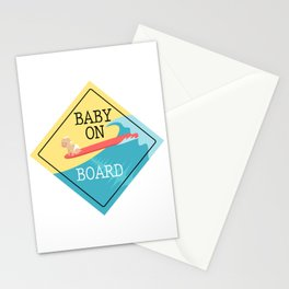 Baby On Board Stationery Cards