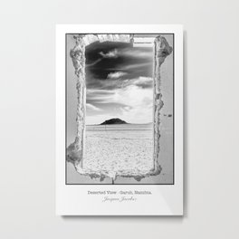 Deserted View Metal Print