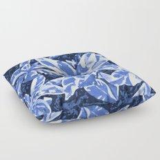 Aloha Blue Floor Pillow