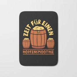 Beer Lover Drink Drunk Barrel Bath Mat