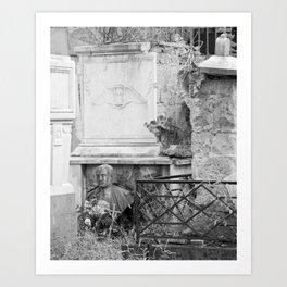 old memorial Art Print