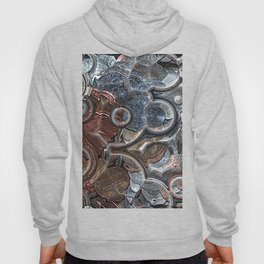 Abstract Coins Hoody