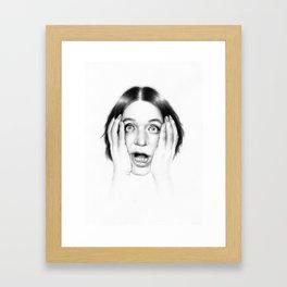 BM Framed Art Print