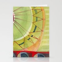 carnival Stationery Cards featuring Carnival by angela deal meanix